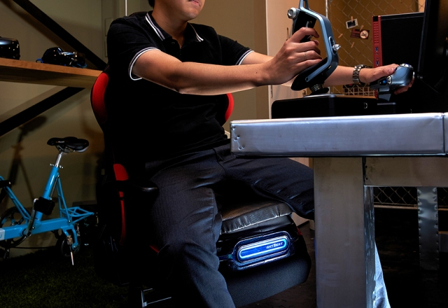 Japanese company develops motion simulator seat for home use