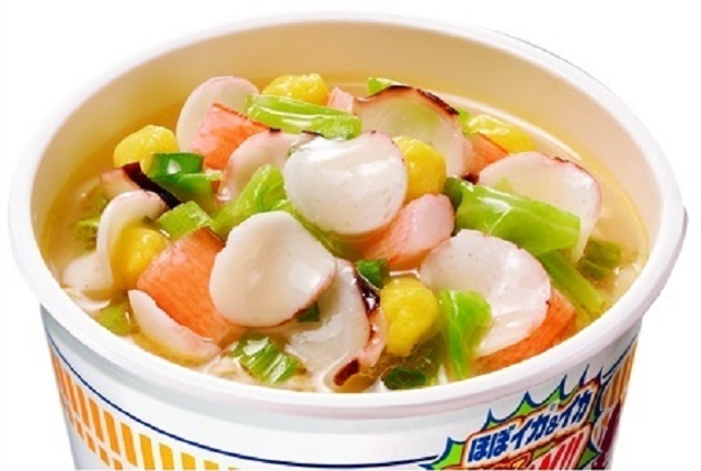 "Cup Noodle instant ramen adds disturbingly named new topping: ""almost squid!"""