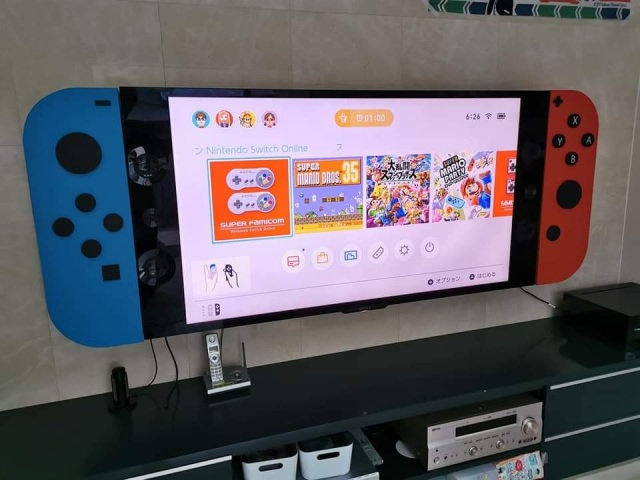 This gigantic faux Switch is exactly how we want to play Nintendo games【Photos】