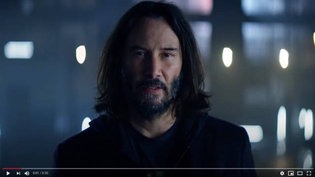 First look at Keanu Reeves' Japanese dub in Cyberpunk 2077 trailer【Video】