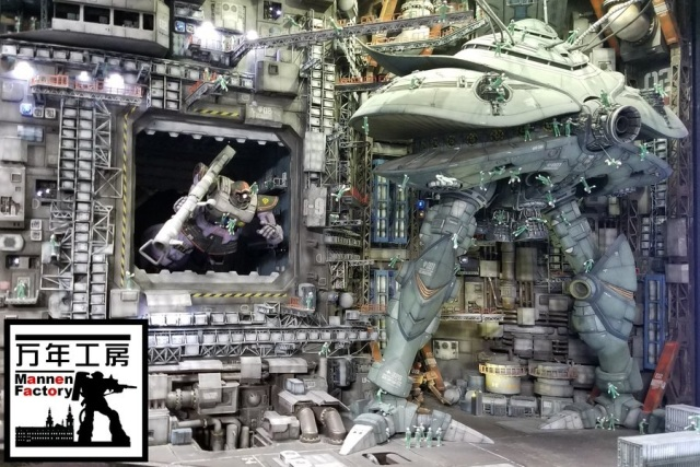 This Gunpla builder designs amazingly life-like Gundam dioramas out of plastic model kits