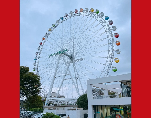 An office 525 feet in the sky – Testing Tokyo amusement park's Ferris wheel telecommuting space