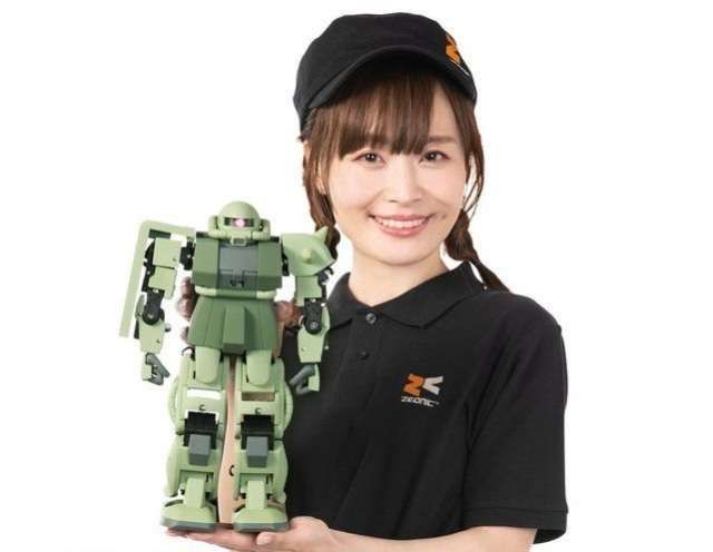 There's now a moving Gundam anime robot model that you can control with your brain【Video】