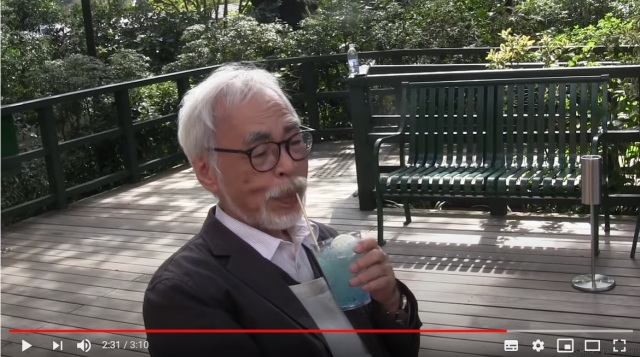 Hayao Miyazaki makes rare video appearance to check out Ghibli Museum's revamped cafe【Video】