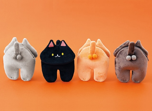 Plushie cat testicle pouches prove Japanese designers can make anything look cute【Photos】