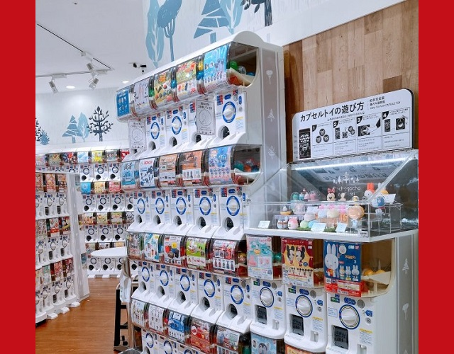 Mr. Sato visits Gacha Gacha no Mori: The capsule toy store for adult women