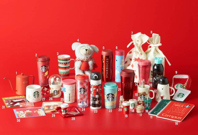 Starbucks unveils festive new Christmas drinkware range for 2020