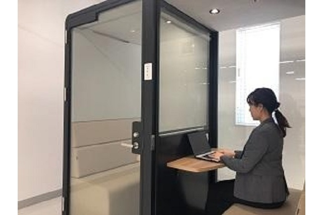 This work pod built for two could be the new way to have face-to-face meetings in Japan【Photos】