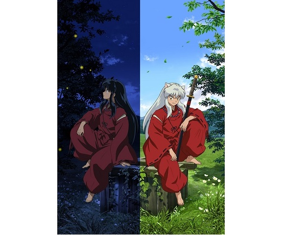 Rotating Inuyasha Anime Art Exhibition to open in five Japanese cities beginning next month