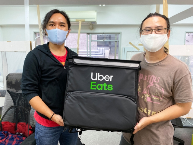 Amazon Japan are selling Uber Eats backpacks and they're surprisingly useful