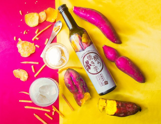 "Enjoy the taste of fire-roasted sweet potatoes in a bottle with new ""You Yaki-imo"" liquor"