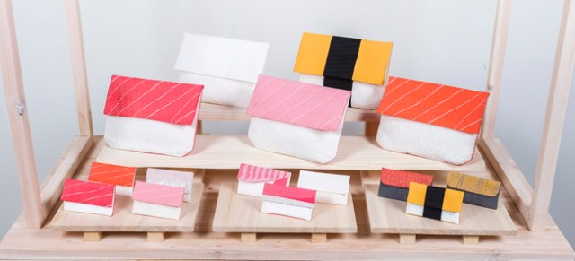 Sushi fabric maker Maison Sushi adds chic new card and coin cases, shoulder bags to lineup