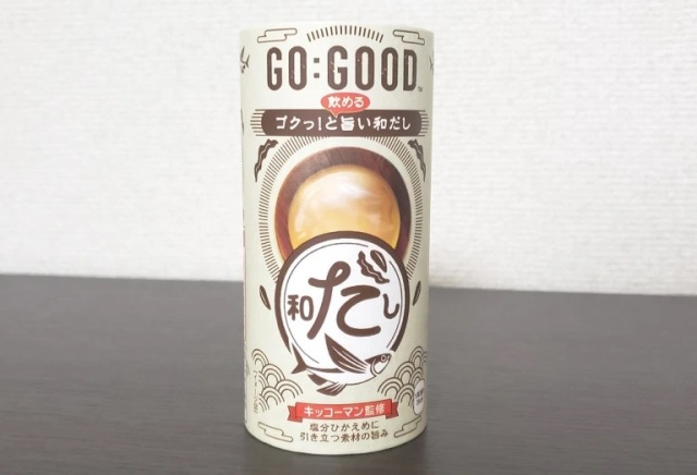 Newest weird Japanese vending machine beverage: Dashi fish soup from…Coca-Cola?!?