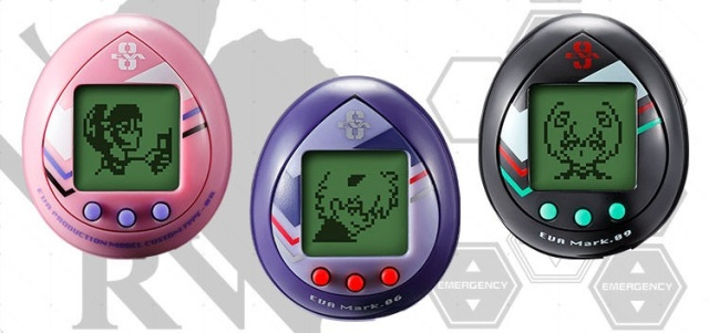 Three new Evangelion Tamagotchi arrive so you can raise your own Angel after the franchise ends