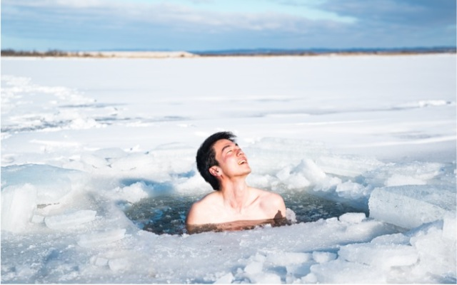 Japan's coldest prefecture offering frozen river open-air soaking this winter