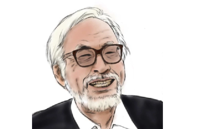 Hayao Miyazaki ambushed while picking up trash on street for opinions on Demon Slayer