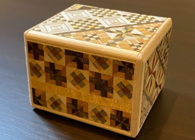 Demon Slayer inspires us to build an old-timey Japanese puzzle box of our own