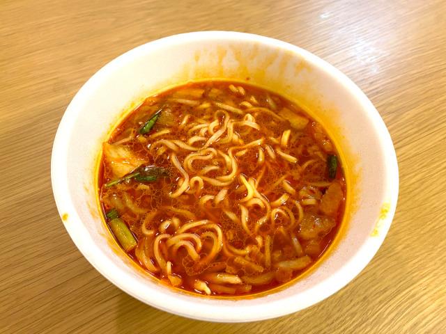 Kimchi Ramen baru dengan 40.000.000.000 Bakteri Asam Laktat