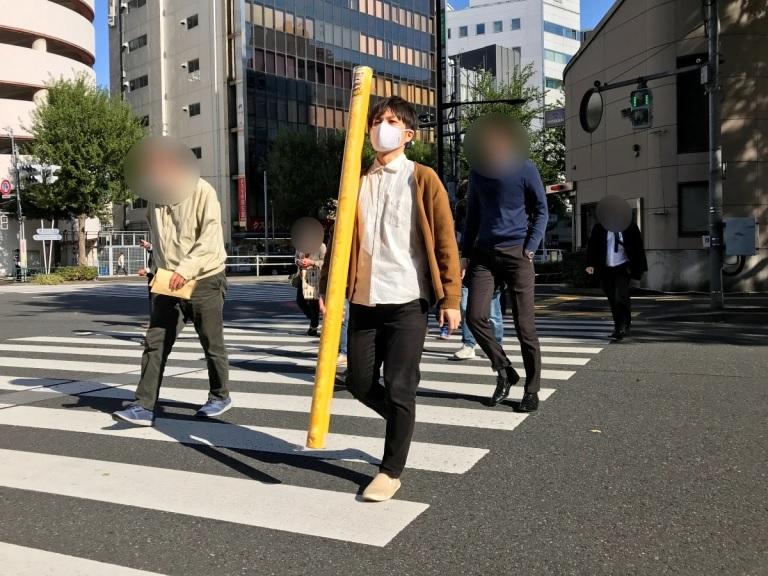 日本品客推出161cm長的等身大包裝 LP-10
