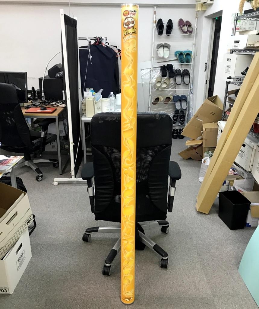 日本品客推出161cm長的等身大包裝 LP-4