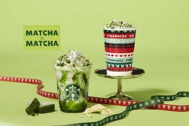 Starbucks Japan tells us what we're getting for Christmas: matcha green tea brownie Frappuccinos!