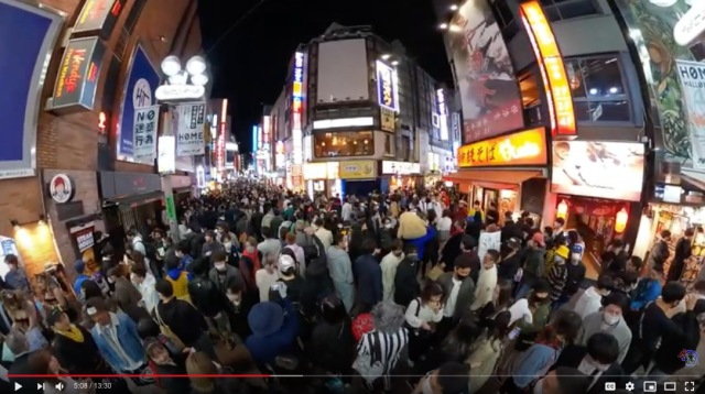 Huge crowds gather for Halloween in Japan despite calls to stay home【Photos】