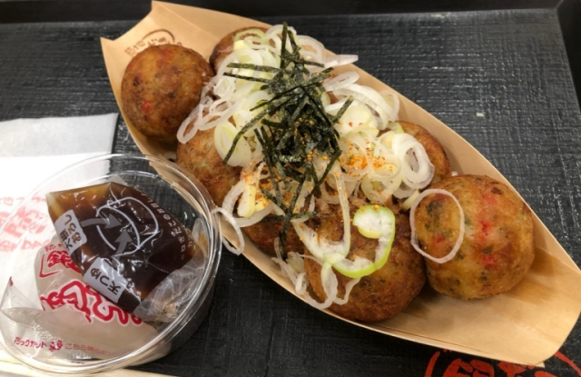 We miss out on cheap all-you-can-eat takoyaki, but stuff ourselves with octopus balls anyway