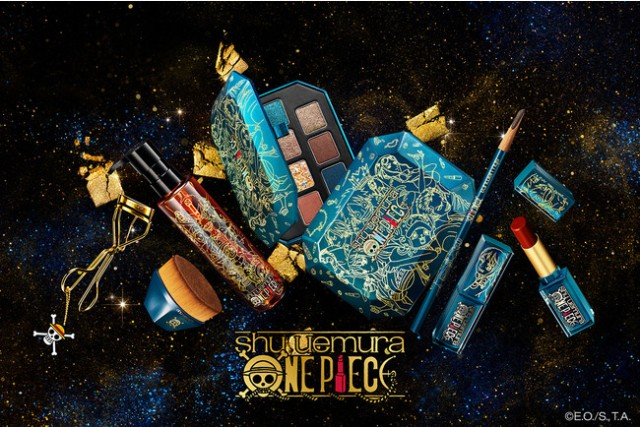 Get ready to set sail on the high seas looking your best with the Shu Uemura x One Piece collaboration