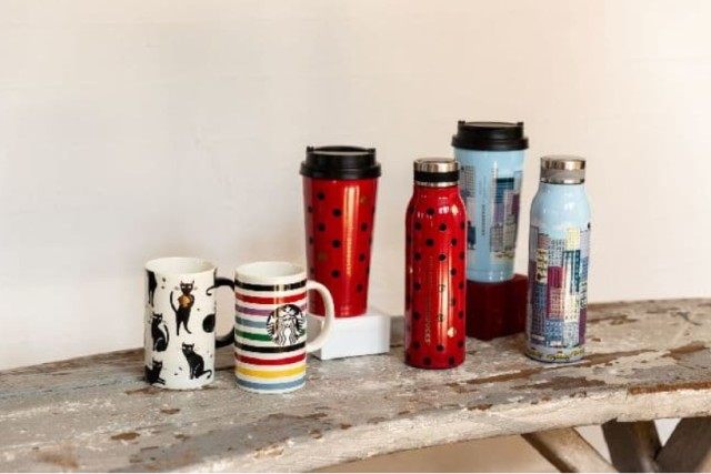 Starbucks Japan teams up with Kate Spade for trendy new designer drinkware