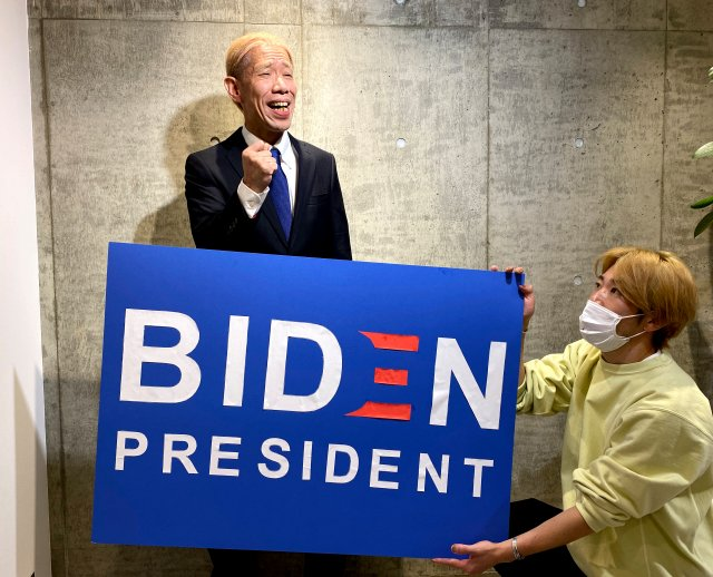 Mr. Sato cosplays as Joe Biden, makes ice cream pit stop as Sato Biden