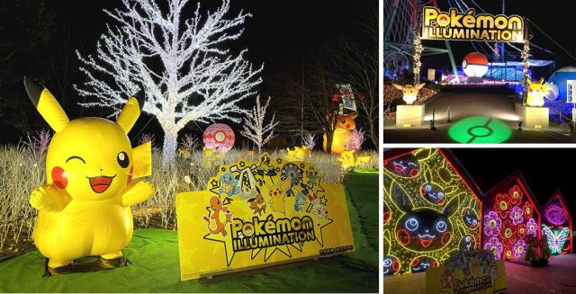 Sagamiko Illumillion Christmas light park opening soon, promises glittering Pokémon, light shows