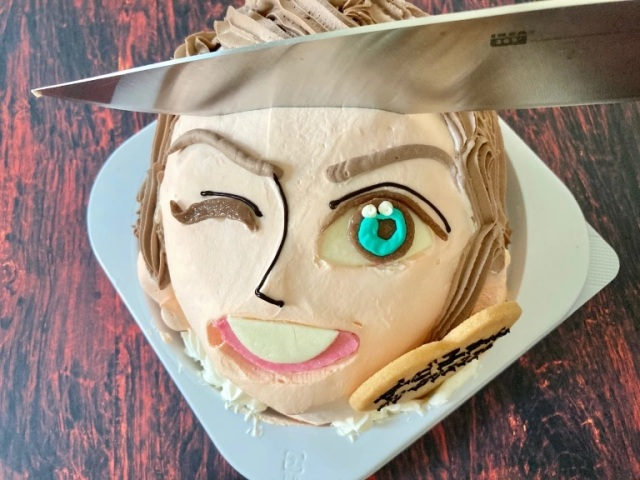Japan's Virtual Boyfriend Cake is here to keep you company/be your murder victim this Christmas