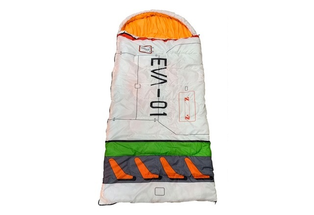 Evangelion sleeping bag Entry Plug is the best place to spend the winter【Photos】