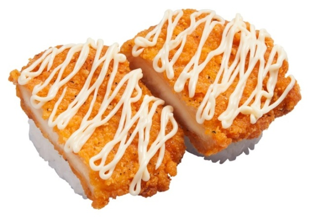 Ho ho ho! Merry fried chicken sushi appears in Japan!