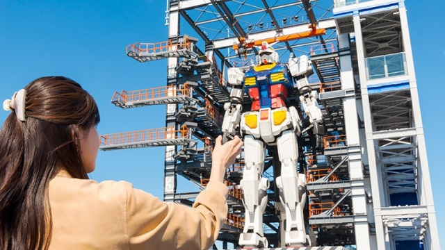 Full-size moving Gundam statue in Japan shows off more moves in new videos【Videos】