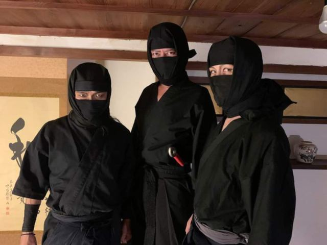 Stay at a ninja trick house in Japan with hidden doors and passageways
