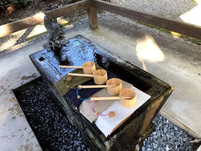 Japanese water purification ritual at shrines under threat due to the pandemic