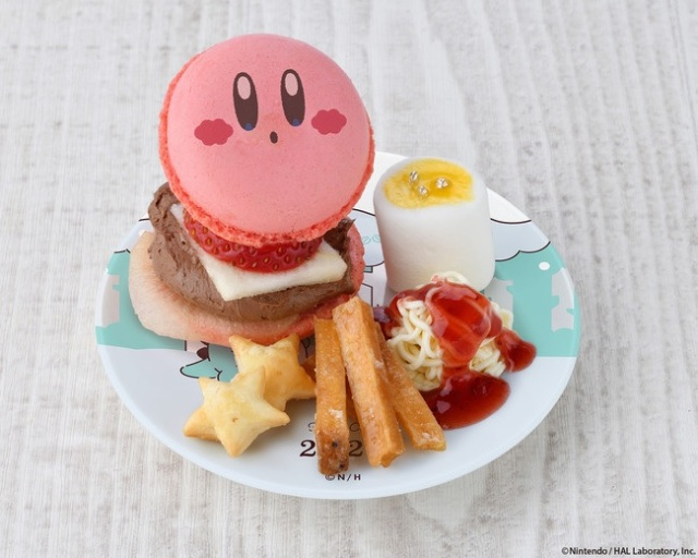 Look again – The new Kirby Cafe burger isn't actually a hamburger