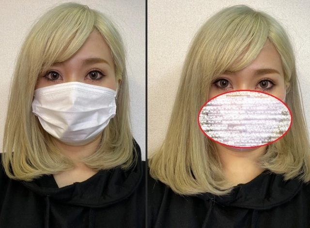 "Do this Japanese cosmetics company's ""small face"" masks make a big difference in your beauty?"