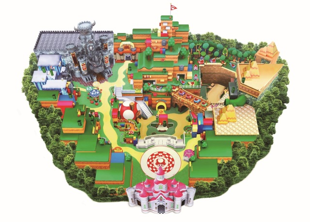 Here it is: The finalized map for Super Nintendo World at Universal Studios Japan (and its food)