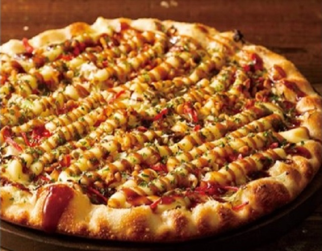 Shakey's creates Japanese-style-pizza pizza with new Okonomiyaki Pizza