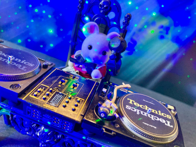 Sylvanian Families x Technics—we discover DJ turntable replicas are perfect for mini animal raves