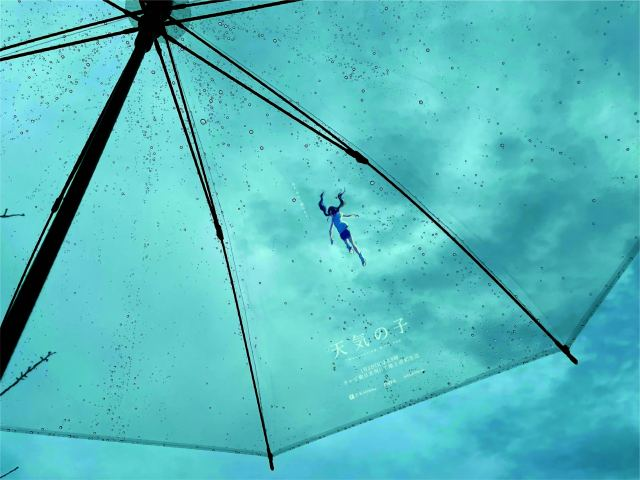 Relive an iconic scene from anime Weathering with You with Japan's rentable Hina umbrellas