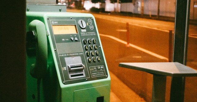 The end of the pay phone? Japanese government considering getting rid of phone boxes