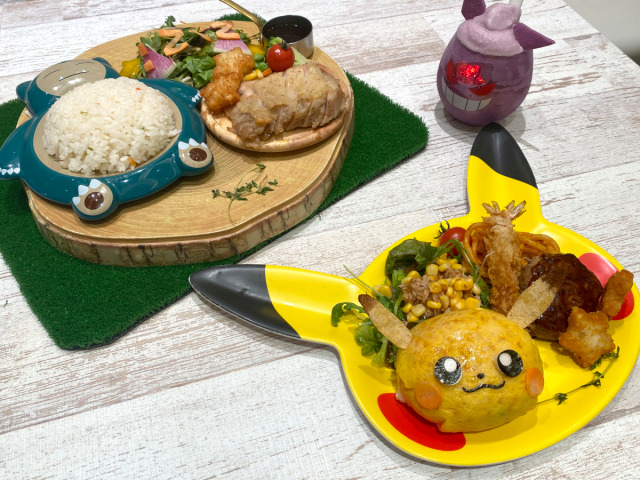 What's it like to eat at the Pokémon Cafe in Tokyo right now?