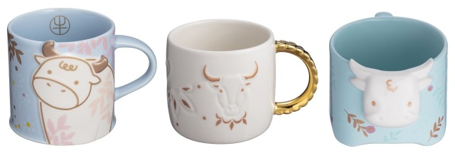 Starbucks Year of the Ox collections bring Chinese zodiac style to China, Taiwan, Thailand【Pics】