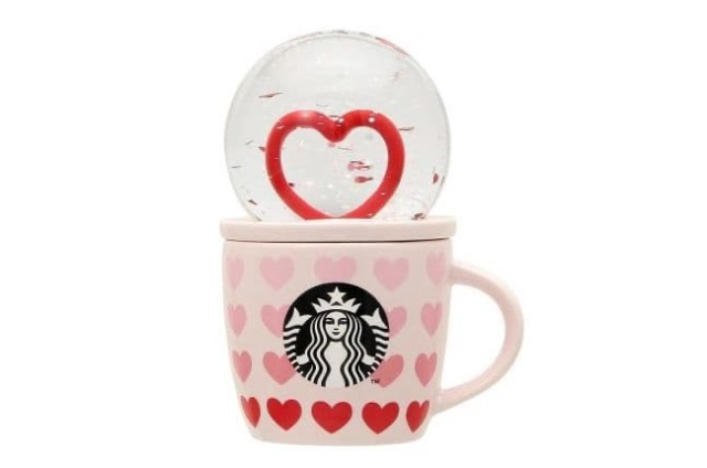 Starbucks unveils limited-edition Valentine's Day drinkware collection in Japan