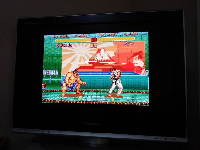 Rising sun removed from Street Fighter II background in game's latest re-release