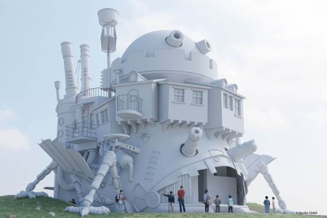 Ghibli Park unveils new real-life Howl's Moving Castle!