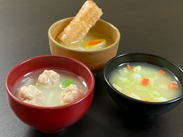 Miso soup capsule toys look good enough to eat, come with recipes to make the real thing!【Photos】